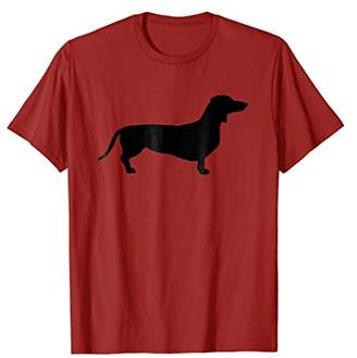 Dachshund Silhouette T-Shirt Funny Dachshund Shirt