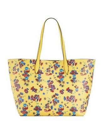 Rebecca Minkoff Heather Large Floral-Print Shoulder Tote Bag