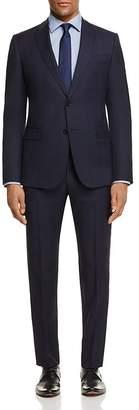 Armani Collezioni Micro Plaid Regular Fit Suit $1,695 thestylecure.com