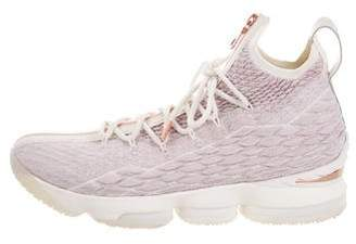 Nike KITH x LeBron 15 Woven High-Top Sneakers