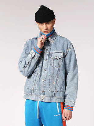 Diesel Denim Jackets 084WL - Blue - L