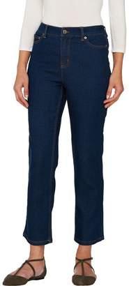 Liz Claiborne New York Petite Jackie Straight Leg Ankle Jeans