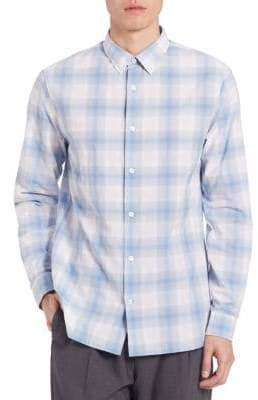 Vince Plaid Melrose Shirt