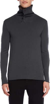 Transit Uomo Mock Neck Sweater