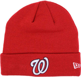 New Era Washington Nationals Basic Cuffed Knit Hat