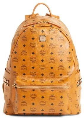 MCM Stark Stud Faux Leather Backpack