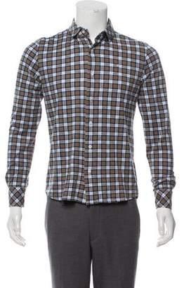 J. Lindeberg Plaid Casual Shirt