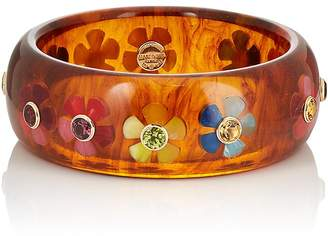 Mark Davis Women's Floral Bakelite Bangle