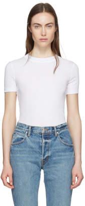 Rosetta Getty White Cotton T-Shirt