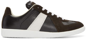 Maison Margiela Black and White Replica Sneakers