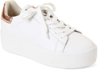 481d9e2ac370 Ash White   Rose Gold Cult Leather Platform Sneakers