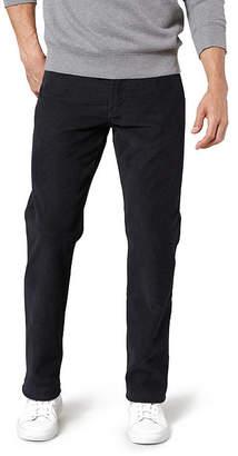 Dockers Jean Cut Straight Fit Flat Front Pants