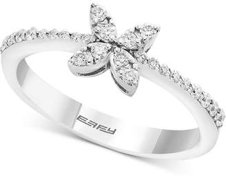 Effy Diamond Butterfly Ring (1/4 ct. t.w.) in 14k White Gold