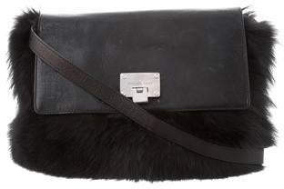 927feb58f9d0 Michael Kors Fox Fur Darrington Bag