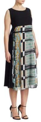 Marina Rinaldi Marina Rinaldi, Plus Size Decimo Silk Dress