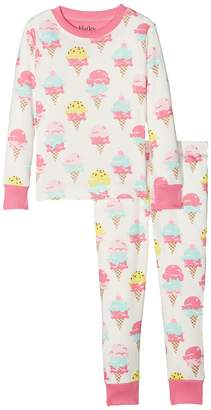 Hatley Ice Cream Treats Long Sleeve Pajama Set Girl's Pajama Sets