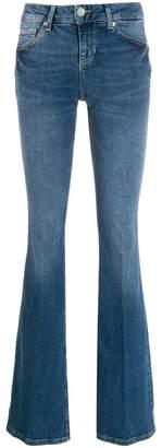 Liu Jo faded bootcut jeans