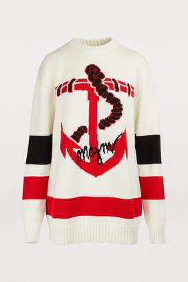 MSGM Nautical sweater
