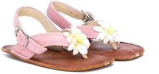 Pépé flower T-strap sandals
