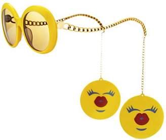 Jeremy Scott By Italia Independent Emoji Rounded Acetate Sunglasses