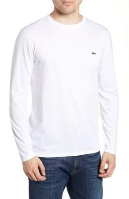 Lacoste Long Sleeve Pima Cotton T-Shirt