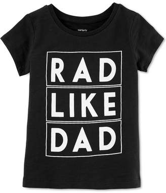 Carter's Toddler Girls Graphic-Print Cotton T-Shirt