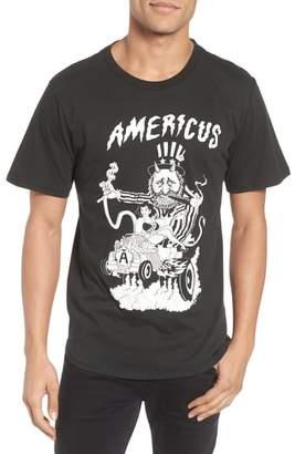 Barking Irons Engine Americus Graphic T-Shirt