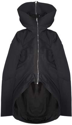 Rick Owens Hooded Asymmetric Jacket Drkshdw
