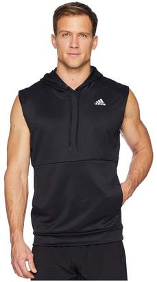 adidas Team Issue Lite Short Sleeve Hoodie Men's Sweatshirt