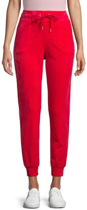Juicy Couture Drawstring Velour Pants