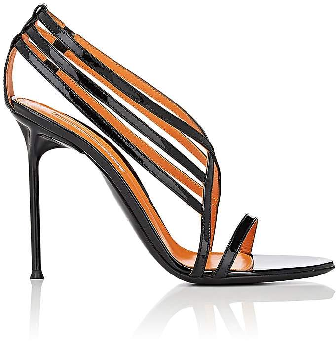 Walter De Silva Women's Patent Leather Strappy Sandals
