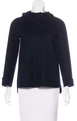 'S MaxMara Wool Hooded Jacket