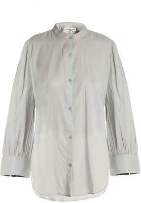 Apiece Apart Aster poet-sleeve cotton-voile shirt