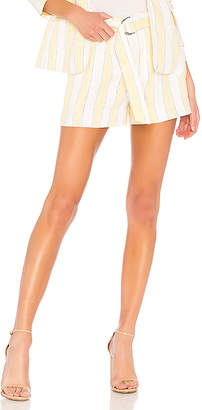 Frame Linen Stripe Short