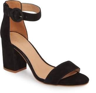 Madewell The Regina Ankle Strap Sandal