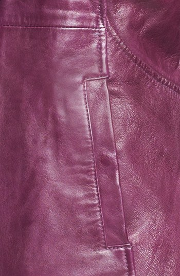 LaMarque Funnel Neck Leather Jacket 4