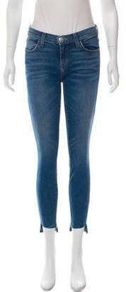 Current/Elliott Low-Rise Skinny Jeans