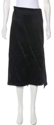 Celine Wrap Midi Skirt