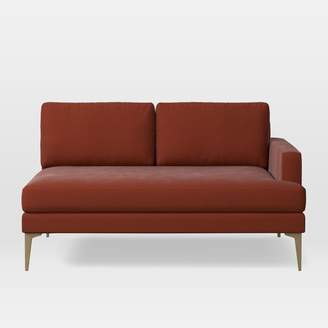 west elm Right Arm 2-Seater Sofa - Extra Deep