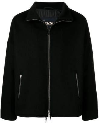 Herno zip-up fleece jacket