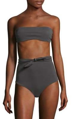 Mara Hoffman Abigail Bandeau Bikini Top