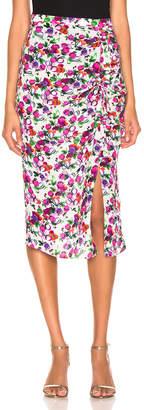 Saloni Kelly Skirt in Rose Bounty   FWRD