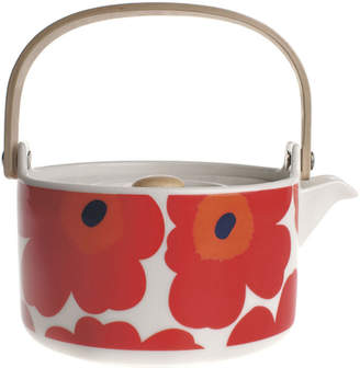 Marimekko Unikko Teapot - White/Red