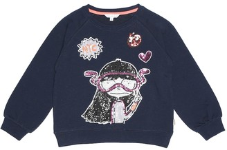 Little Marc Jacobs Miss Marc cotton sweatshirt