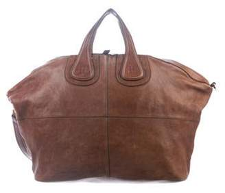 Givenchy Large Leather Nightingale Brown Large Leather Nightingale