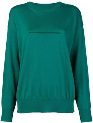 MM6 MAISON MARGIELA seam detail sweatshirt