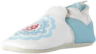 Bobux Unisex Babies' Marokkanische Fliesen Weiß Loafers,4UK Child