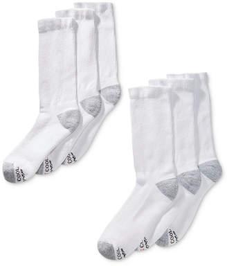 Hanes Men's 6-Pk. X-Temp Crew Socks
