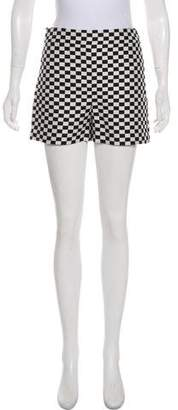 Christian Dior 2018 Checkered Shorts