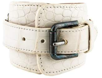 Ralph Lauren Alligator Wrap Bracelet